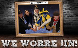 Het nieuwe motto voor Peejenland: We worre jin!