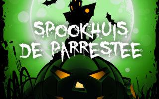 Zaterdag 28 oktober: Spookhuis De Parrestee 2017!