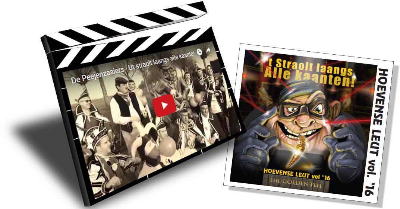 Videoclip 'Ut Straolt Laangs Alle Kaante'