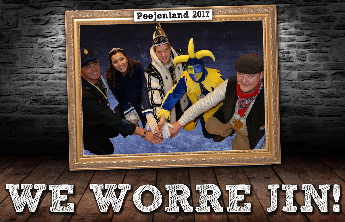 Motto Peejenland 2017: We Worre Jin!