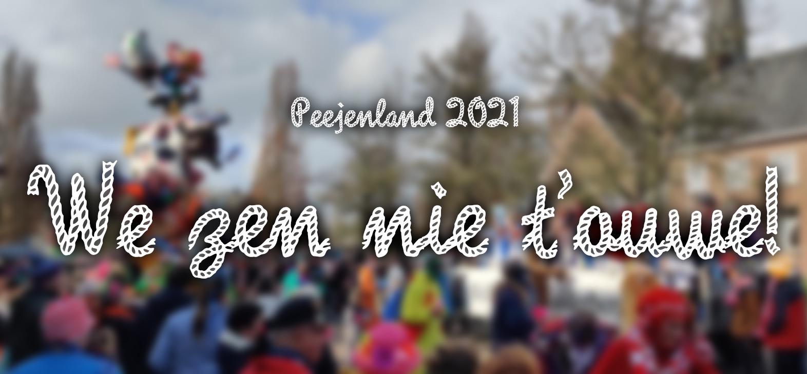Motto 2021: We Zen Nie T'ouwe!