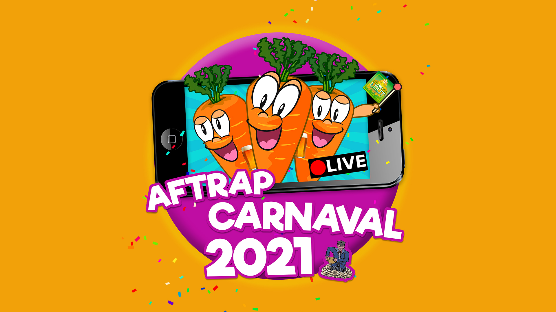 Zaterdag Live Aftrap Carnaval 2021 In Peejenland!